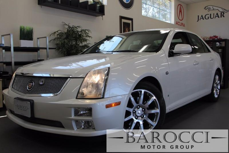 2006 Cadillac STS V6 4dr Sedan 5 Speed Auto Off White Beige Beautiful STS Cadillac has Navigati