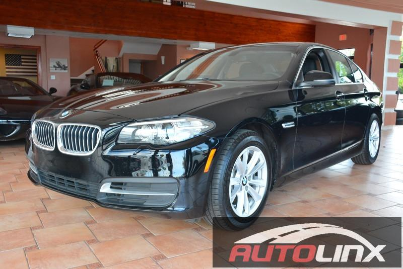 2014 BMW 5-Series 528i 8-Speed Automatic Black Black Black Leather Nice car Talk about a deal