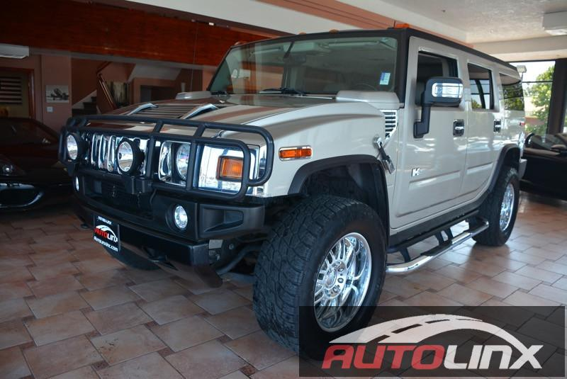 2004 Hummer H2 SUV 4-Speed Automatic Beige Black 4 Wheel Drive You NEED to see this SUV Humme