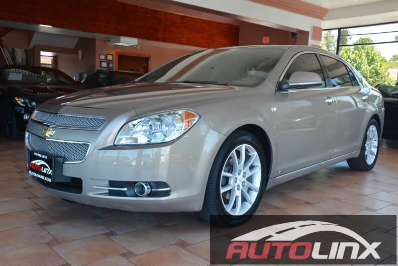 2008 Chevrolet Malibu LTZ 6-Speed Automatic Champagne Charcoal 36L V6 SFI DOHC and Charcoal Le
