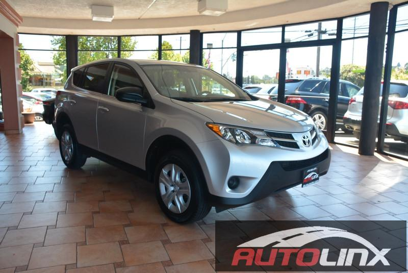 2013 Toyota RAV4 LE Automatic 6-Speed Silver Gray Gray Silver Bullet Theres no substitute for