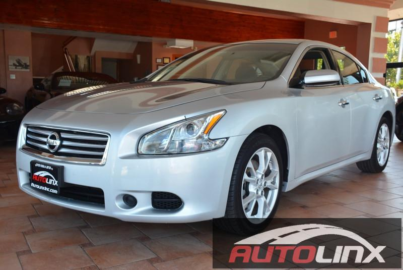 2014 Nissan Maxima SV Continuously Variable Tra Silver Black Silver Bullet ATTENTION Your q