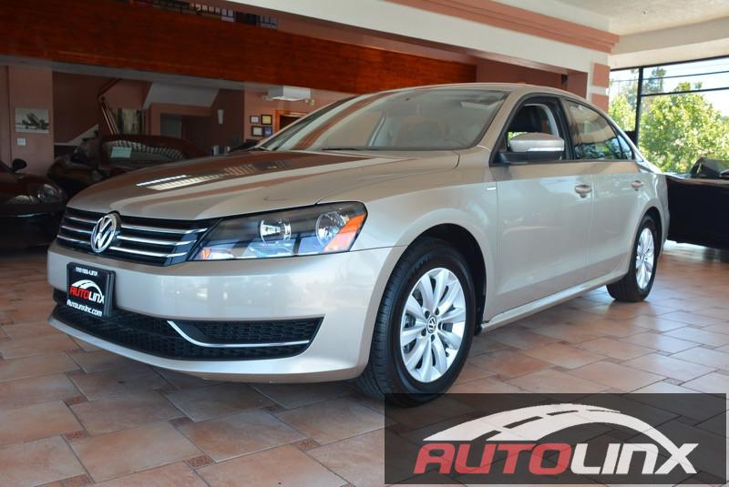 2015 Volkswagen Passat S PZEV 4dr Sedan 6 Speed Auto Brown Black Bluetooth Hands-Free Portabl