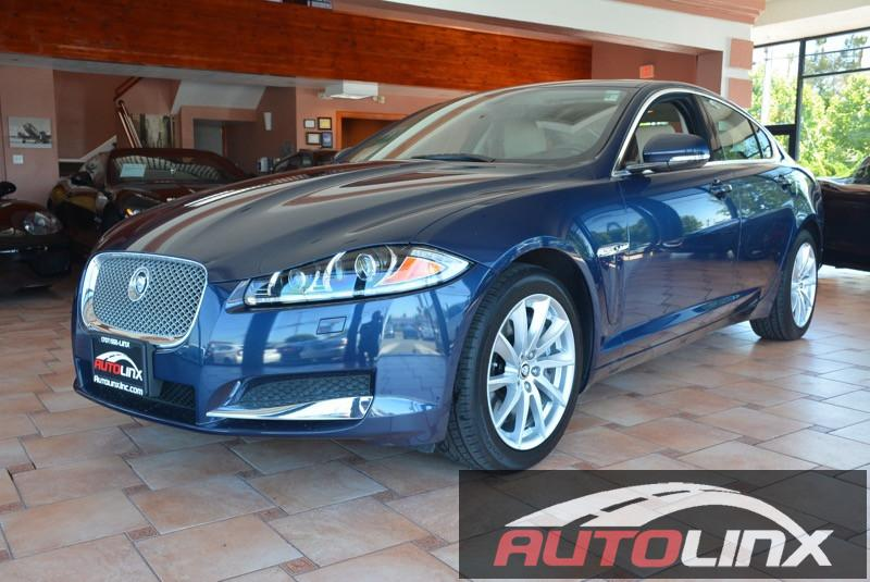 2013 Jaguar XF-Series XF 20L I4T 8-Speed Automatic Blue Tan Bluetooth Hands-Free Portable Au
