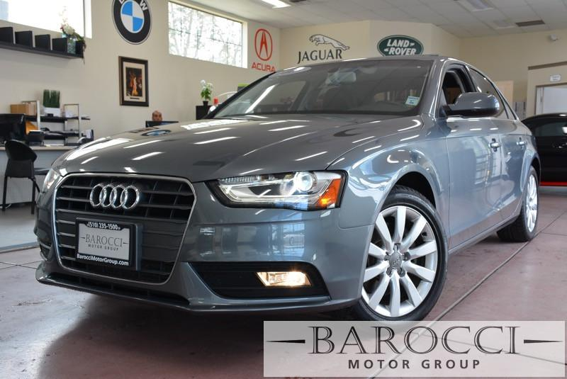 2013 Audi A4 20T Premium 4dr Sedan Automatic CVT Gray Black This is a beautiful Audi on specia