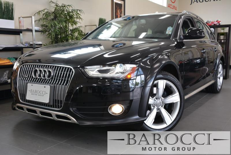 2013 Audi Allroad 20T quattro Premium AWD  4dr Wagon Automatic Black Clean 1-owner lease return