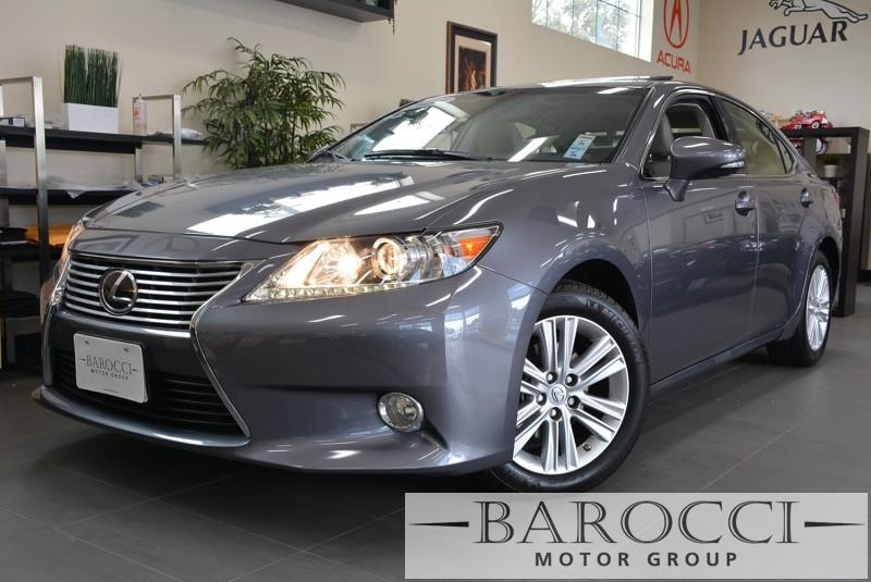 2014 Lexus ES 350 Base 4dr Sedan 6 Speed Auto Gray White Beautiful 1-owner California lease ret