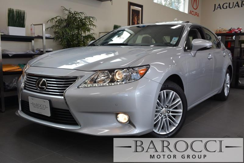 2014 Lexus ES 350 Base 4dr Sedan 6 Speed Auto Silver White Beautiful off-lease ES 350 Low miles