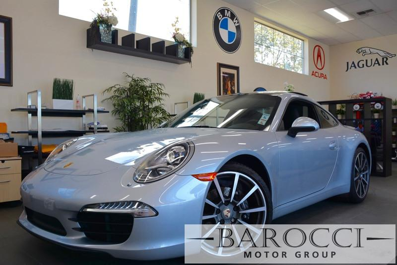 2014 Porsche 911 Carrera 2dr Coupe Manual Gray Power Door Locks Vehicle Anti-Theft ABS Brakes