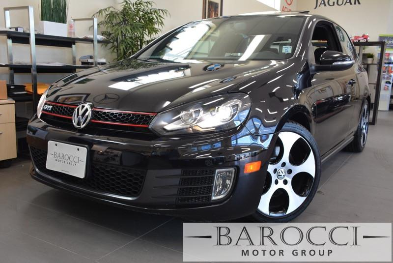 2011 Volkswagen GTI 2 DRNAVIGATION6M 6 Speed Manual Black ABS 4-Wheel Air Conditioning AM FM