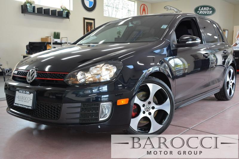 2013 Volkswagen GTI Base PZEV 4dr Hatchback 6M 6 Speed Man Black Sunroof Bluetooth Phone conne