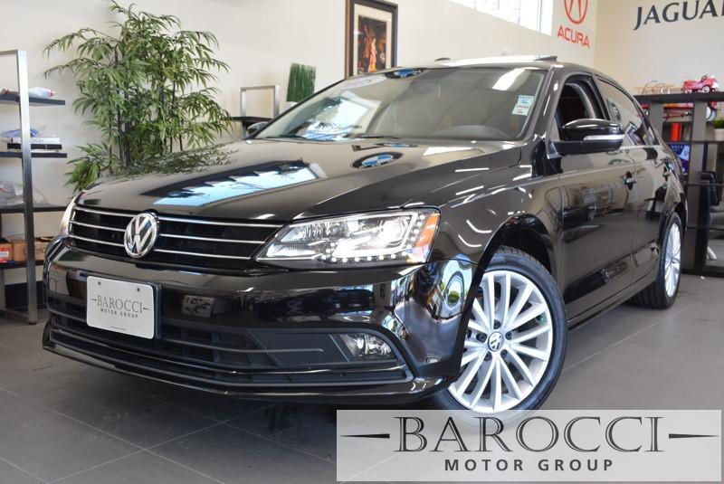 2015 Volkswagen Jetta SE 4dr Sedan 6A wConnectivi 6 Speed Auto Black Air Conditioning Alarm P