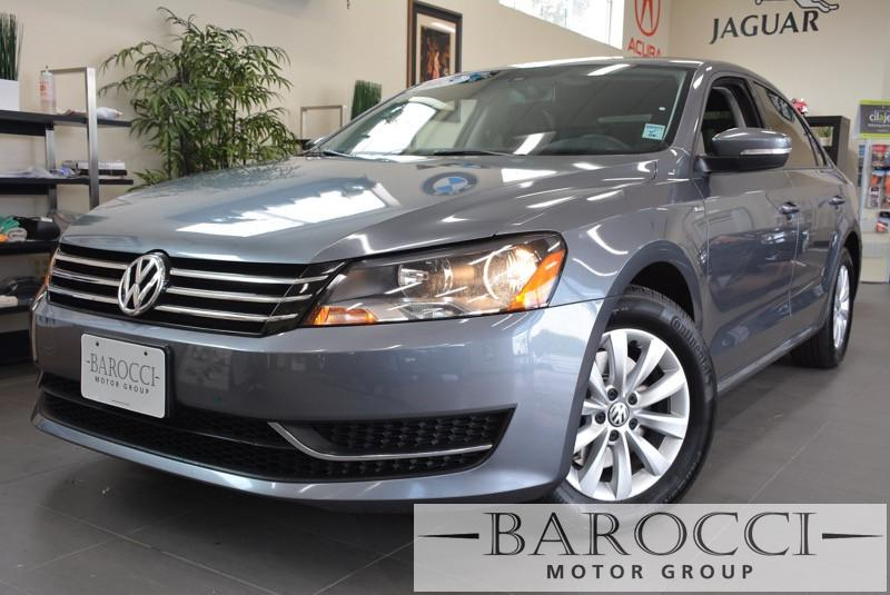 2015 Volkswagen Passat Wolfsburg Edition PZ 4dr Sedan 6 Speed Auto Gray ABS 4-Wheel Air Conditi