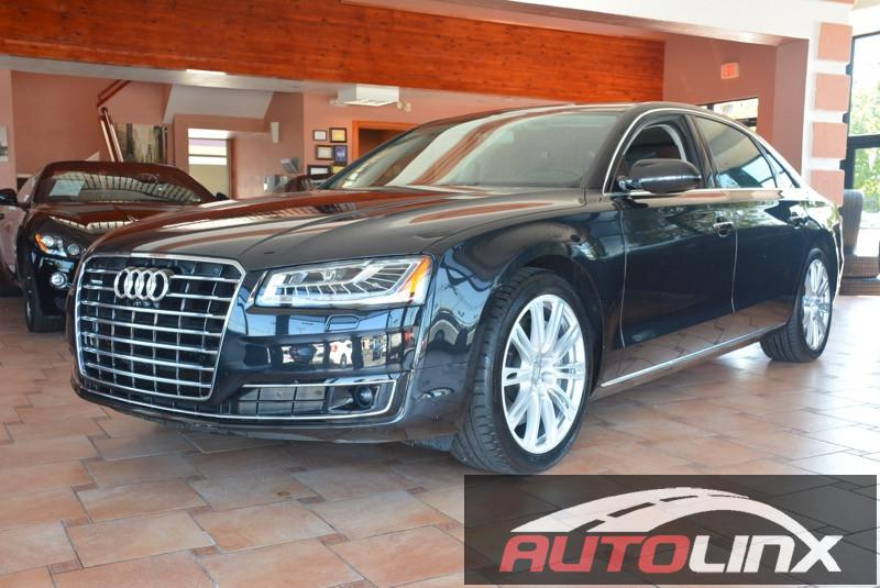 2015 Audi A8 L 30T quattro 8-Speed Automatic Black Black Luxury Package  Alcantara Headliner a