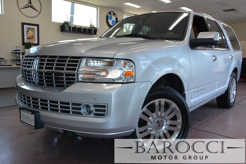 2012 Lincoln Navigator L Limited 4x4 Automatic Silver Brown Unique Navigator with a beautiful
