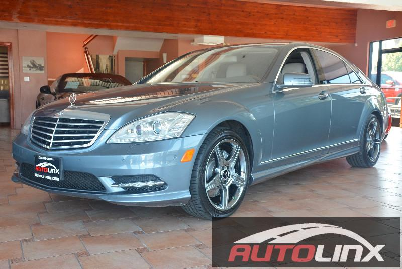 2011 MERCEDES S-Class S550 7-Speed Automatic Gray Black Black Leather Youll NEVER pay too much