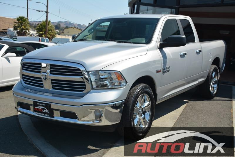 2015 RAM 1500 SLT Quad Cab 4X4 Automatic 8-Speed Silver Gray 4WD Short Bed Extended Cab Want