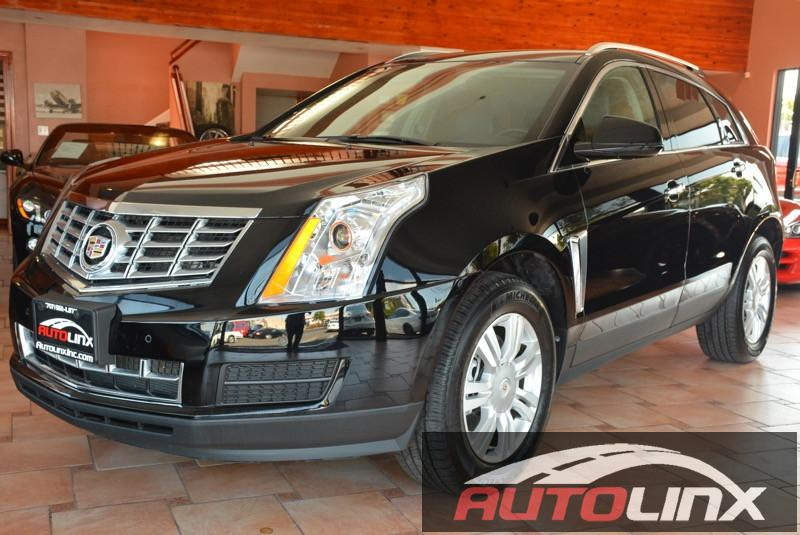 2016 Cadillac SRX Luxury Collection 6-Speed Automatic wManual Shift Black Black Bluetooth Han