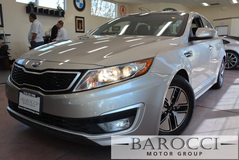 2012 Kia Optima Hybrid EX 4dr Sedan 6 Speed Auto Gray 4-wheel ABS brakes Air conditioning with