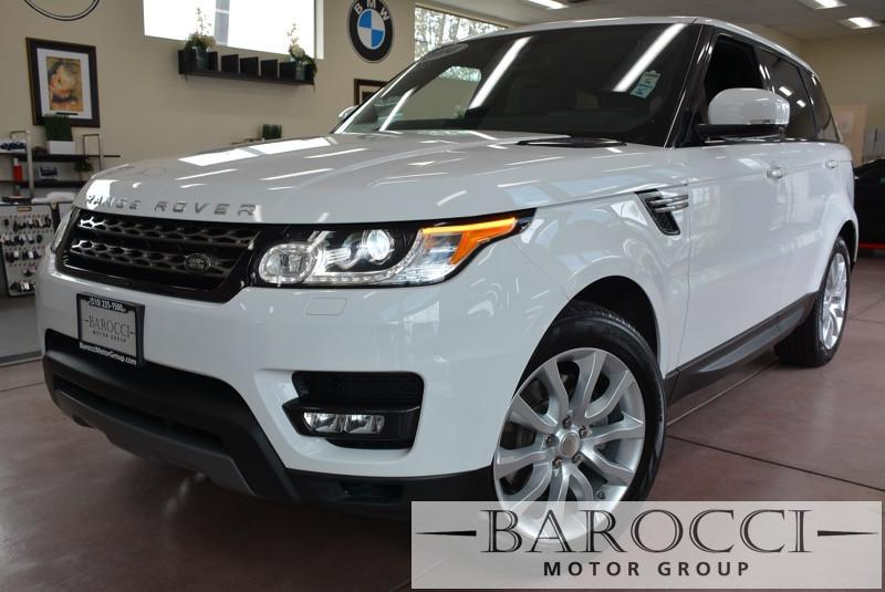 2014 Land Rover Range Rover Sport HSE 4x4 4dr SUV 8 Speed Auto White Black Beautiful Fuji White