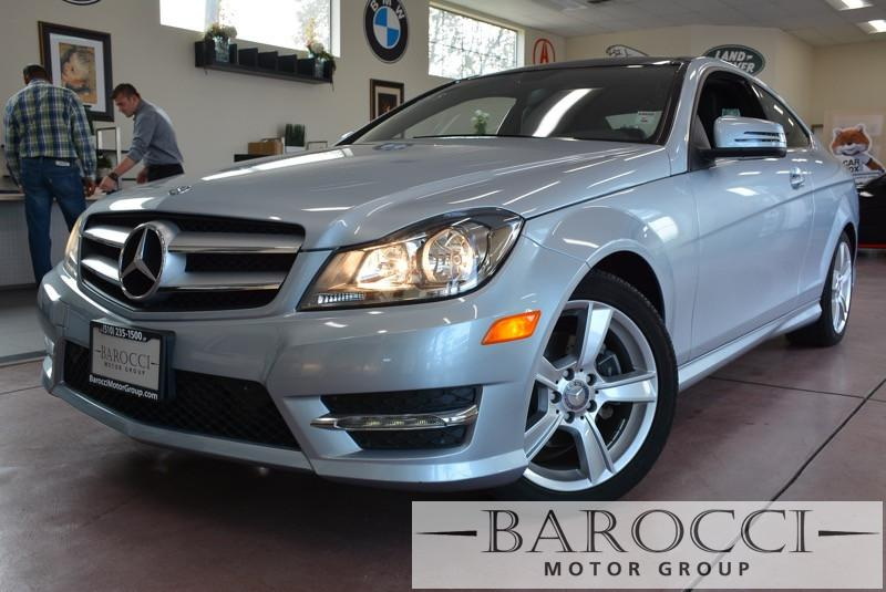 2013 MERCEDES C-Class C250 2dr Coupe Automatic Silver Black This beautiful One Owner car gets a
