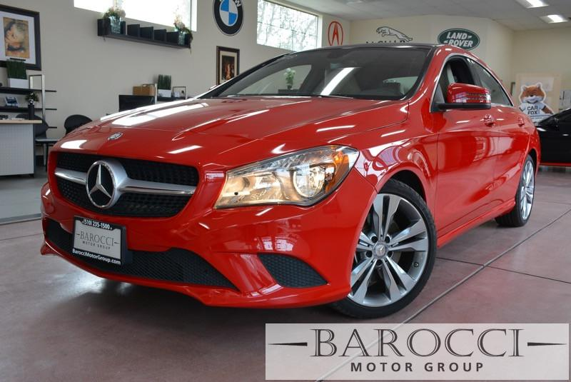 2014 MERCEDES CLA CLA250 4dr Sedan Automatic Red Beige This is a beautiful vehicle in great con