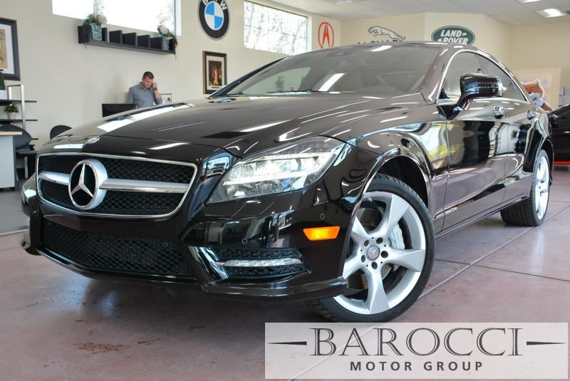 2013 MERCEDES CLS CLS550 4dr Sedan 7 Speed Auto Black Brown This is a beautiful CLS that still