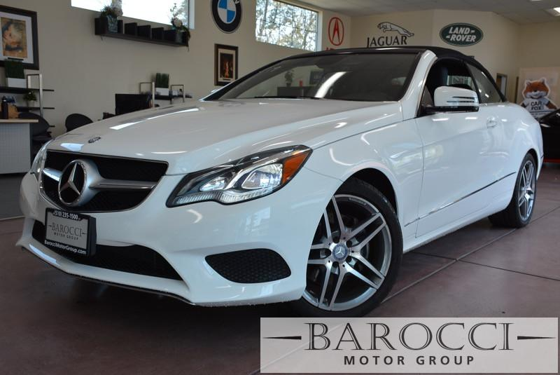 2014 MERCEDES E-Class E350 2dr Convertible Automatic White Black Fully Loaded with options One