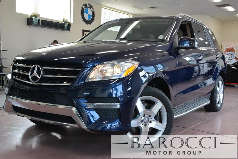 2014 MERCEDES M-Class ML350 4dr SUV Automatic Blue Tan Beautiful ML350 comes with the sport pac