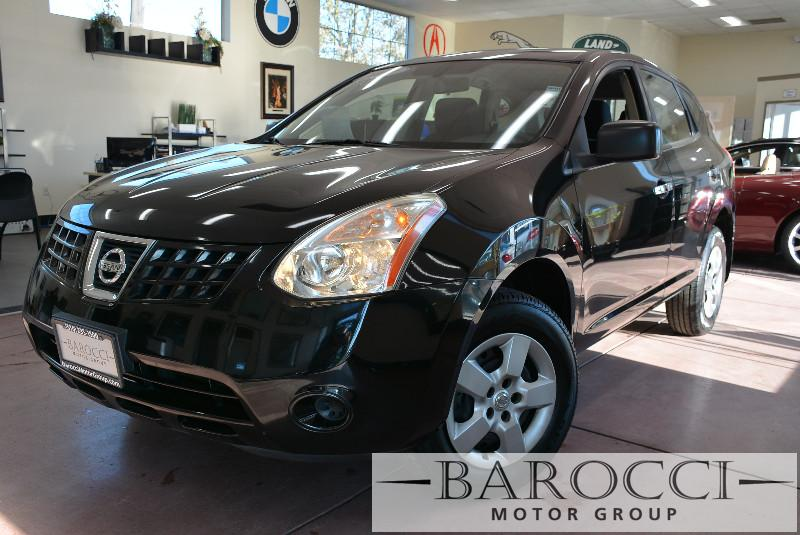 2010 Nissan Rogue SL 4dr Crossover CVT Continuously Variable Black 170 hp horsepower 2 5 L li