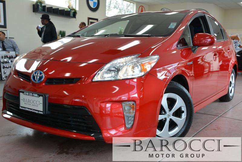 2013 Toyota Prius Three 4dr Hatchback Automatic Red Air Conditioning Alarm Power Steering Pow