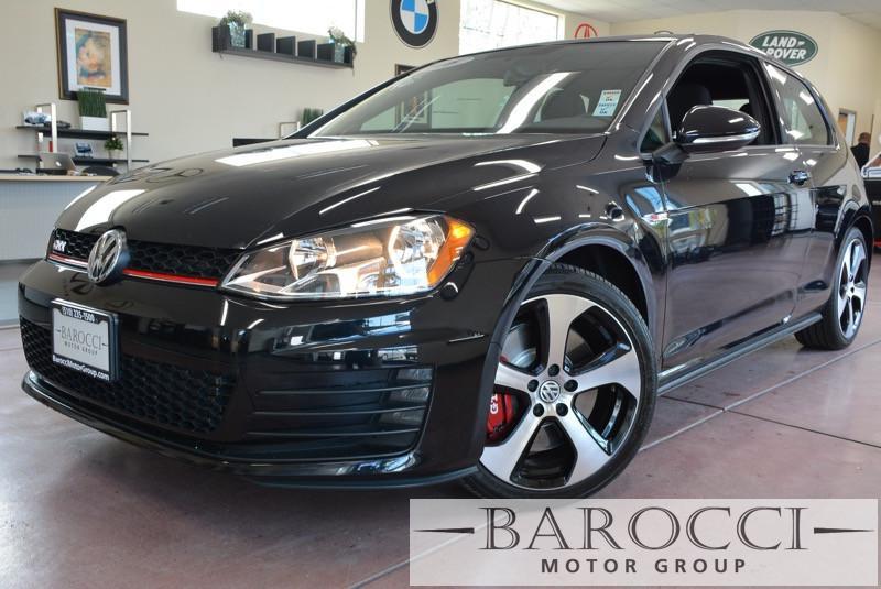 2016 Volkswagen Golf GTI S 2dr Hatchback 6M wPerfor 6 Speed Man Black Gray Immaculate 2016 GT