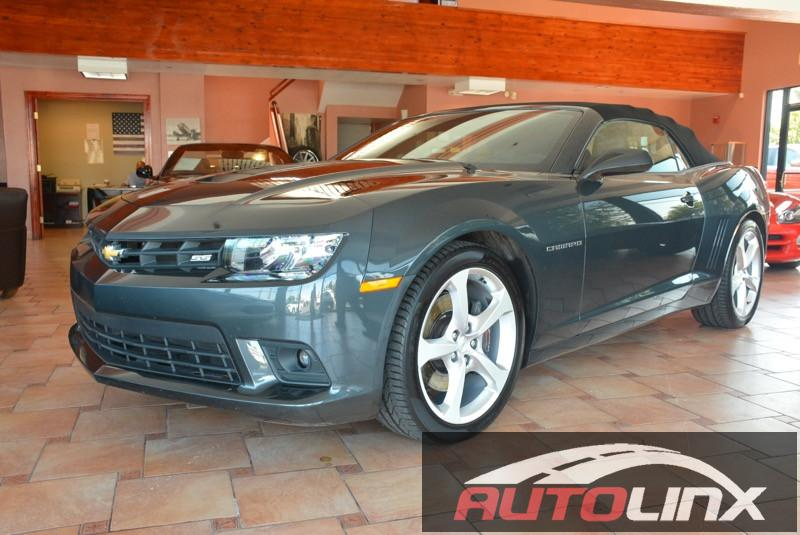2015 Chevrolet Camaro Convertible 2SS 6-Speed Automatic Gray Bluetooth Hands-Free Portable Aud