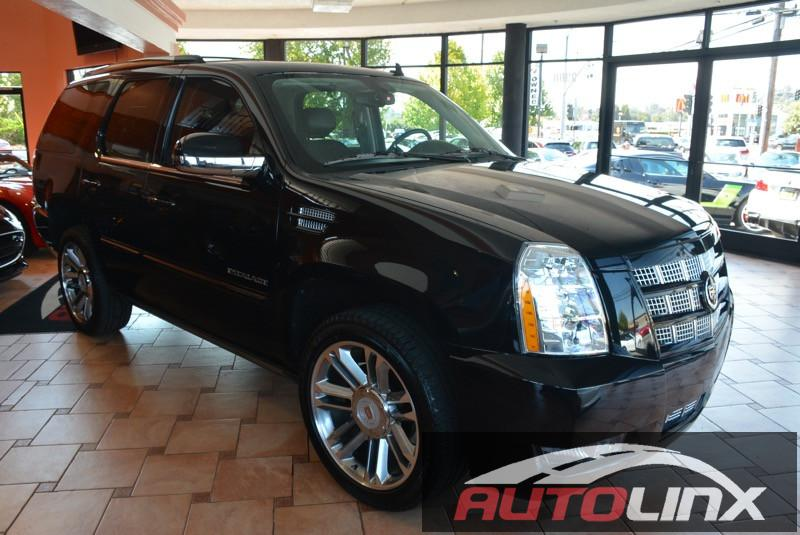 2014 Cadillac Escalade Premium AWD SUV Premium Pkg Automatic Black Black ABS Air Conditioning
