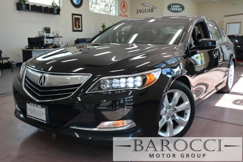 2014 Acura RLX Base 4dr Sedan Automatic Black Black Beautiful RLX Acura Loaded with features i