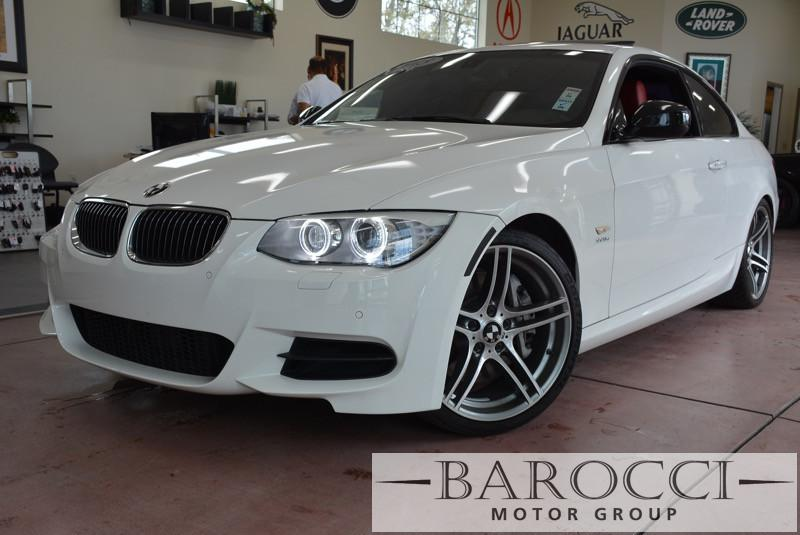 2013 BMW 3 Series 335is 2dr Coupe Automatic White Red This is a beautiful BMW Twin Turbo 335IS