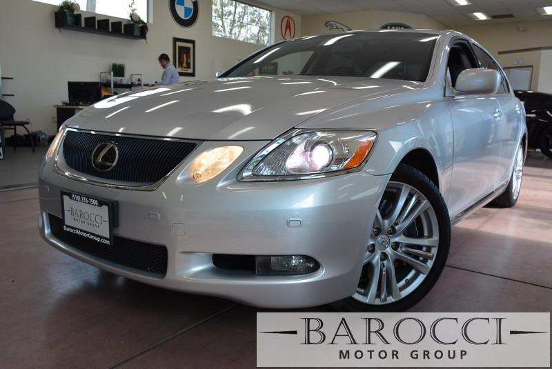 2007 Lexus GS 450h Base 4dr Sedan Automatic Silver Black This vehicle comes equipped with parki