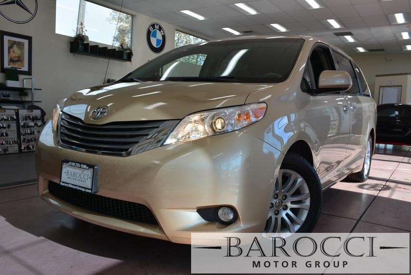 2014 Toyota Sienna XLE 8-Passenger 4dr Mini-Van 6 Speed Auto Beige ABS 4-Wheel Air Conditioning