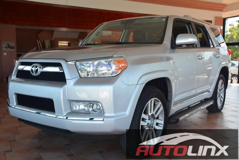 2012 Toyota 4Runner SR5 4WD 5-Speed Automatic Silver Black Bluetooth Hands-Free Portable Audi