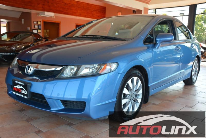 2009 Honda Civic EX Sedan AT 5-Speed Automatic Blue Gray Gray Join us at AutoLinx Inc Wow W