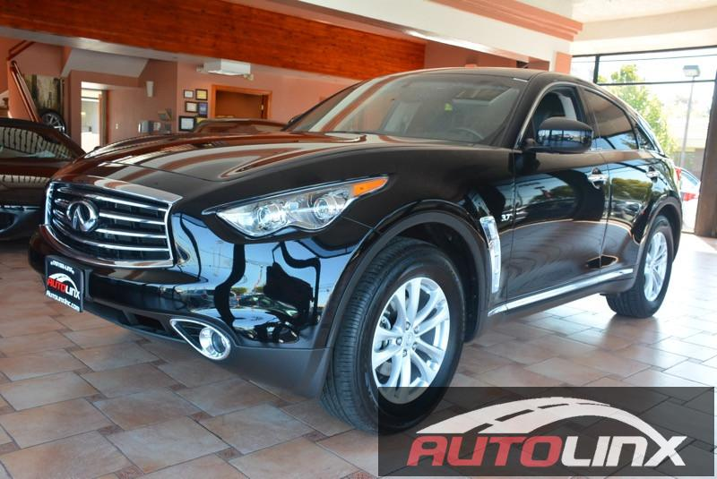 2016 Infiniti QX70 Base 7-Speed Automatic Black Black Bluetooth Hands-Free Portable Audio Con