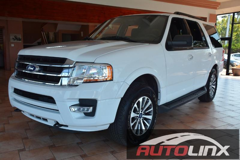 2015 Ford Expedition XLT 4WD 6-Speed Automatic White Gray 4WD Turbo The AutoLinx Inc Advanta