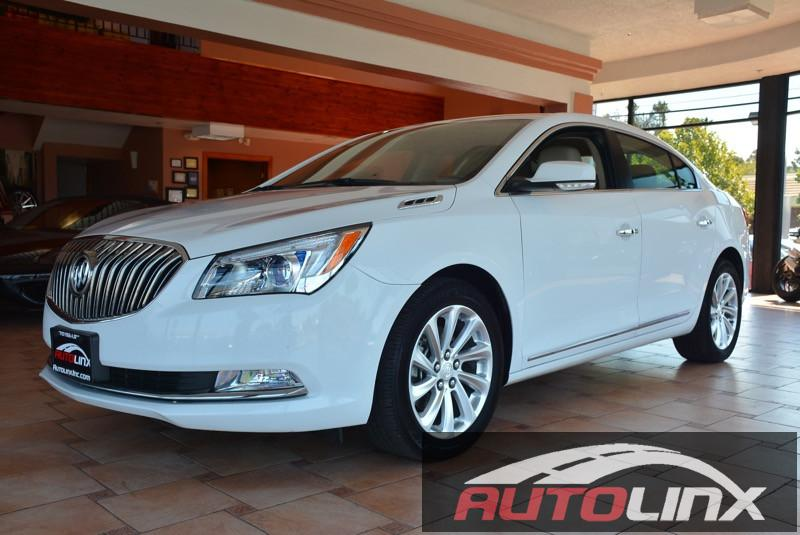 2016 Buick LaCrosse Leather 6-Speed Automatic wOD White Black Bluetooth Hands-Free Portable