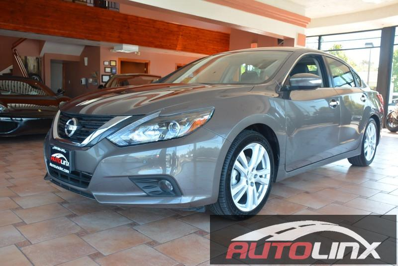 2016 Nissan Altima 35 CVT Continuously Variable Brown Black CVT with Xtronic ABS brakes Au