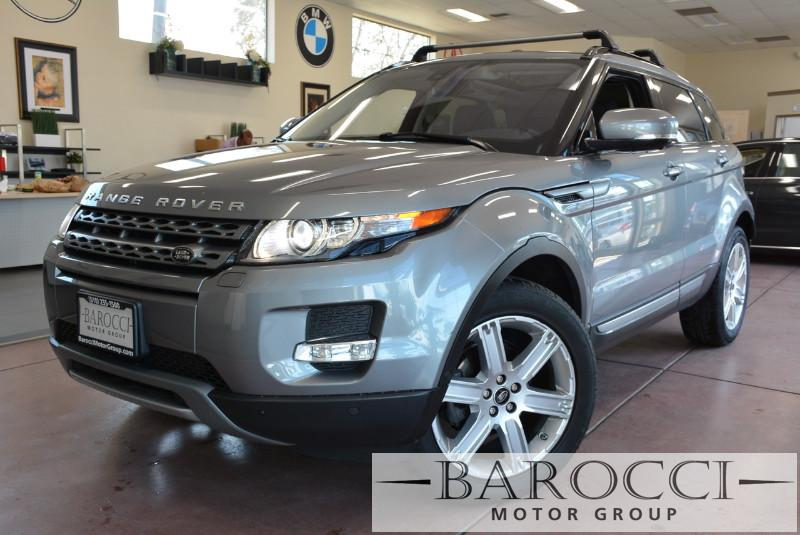 2013 Land Rover Range Rover Evoque Pure Premium AWD  4dr SUV 6 Speed Auto Gray Black Comes with