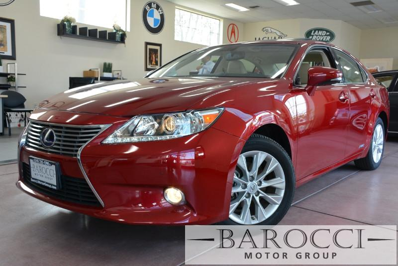 2014 Lexus ES 300h Base Hybrid 4dr Sedan Automatic CVT Red Beige Beautiful ES300 Hybrid loaded