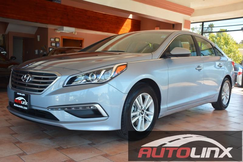 2015 Hyundai Sonata SE Automatic 6-Speed Gray Black Bluetooth Hands-Free Portable Audio Conne