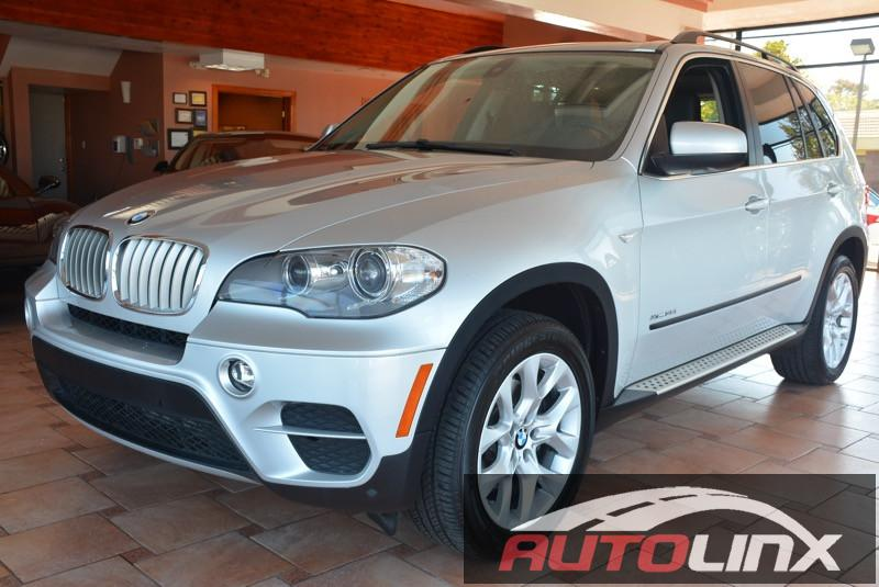 2013 BMW X5 xDrive35i AWD  4dr SUV 8 Speed Auto Silver Black Bluetooth Hands-Free Portable Au