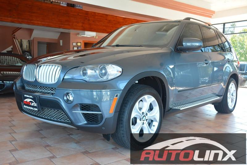 2013 BMW X5 xDrive50i Automatic Gray Black Bluetooth Hands-Free Portable Audio Connection Ba