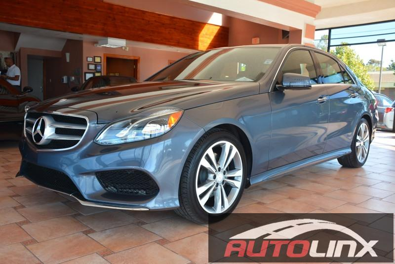 2014 MERCEDES E-Class E350 Luxury 4dr Sedan 7 Speed Auto Gray Black Bluetooth Hands-Free Port